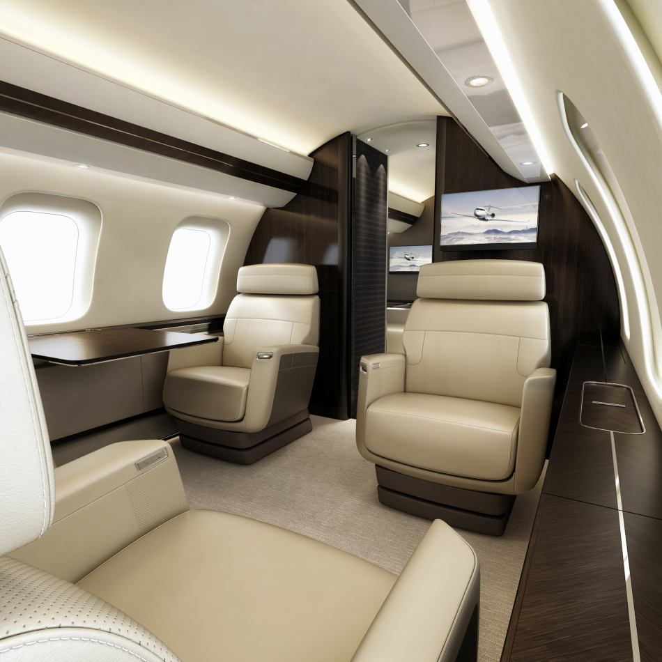 Bombardier Global 7500 interior