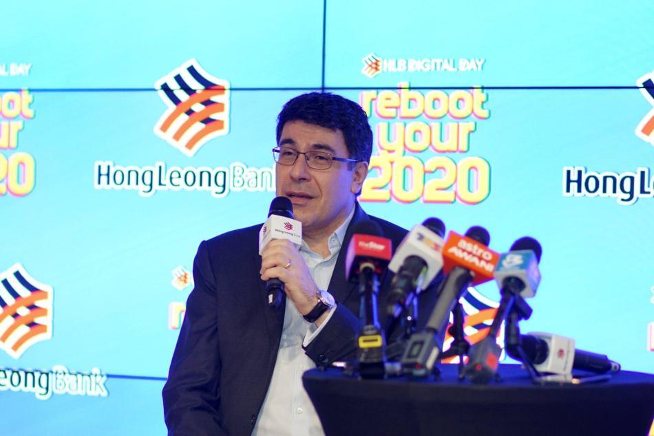 Domenic Fuda, Group Managing Director and Chief Executive Officer of Hong Leong Bank
