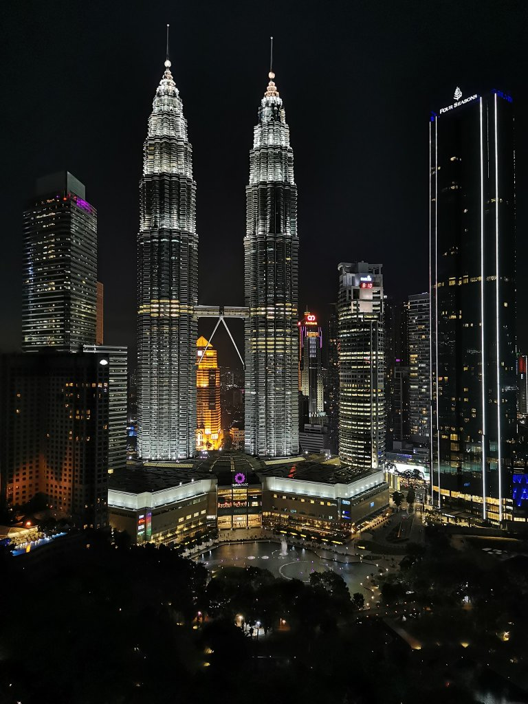 Petronas Twin Towers Kuala Lumpur at night