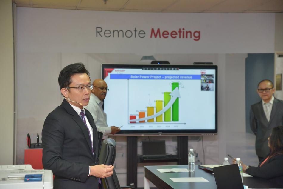 Sharp's Remote Meeting for businesses