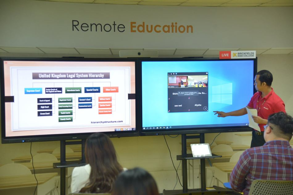 SHARP Remote Education Systems for classrooms