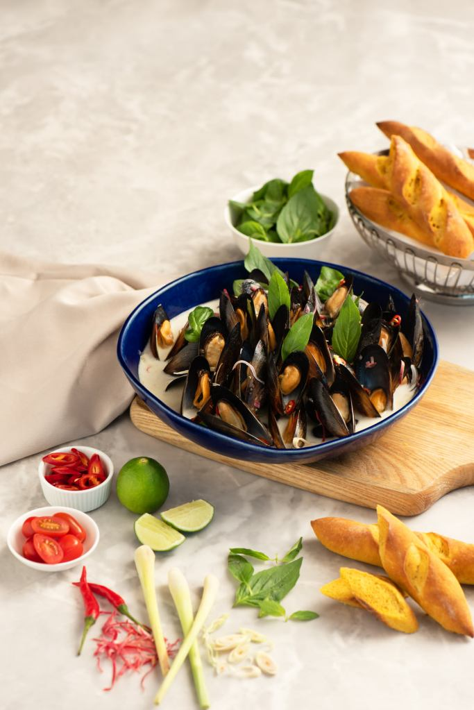 Mussels Asiano